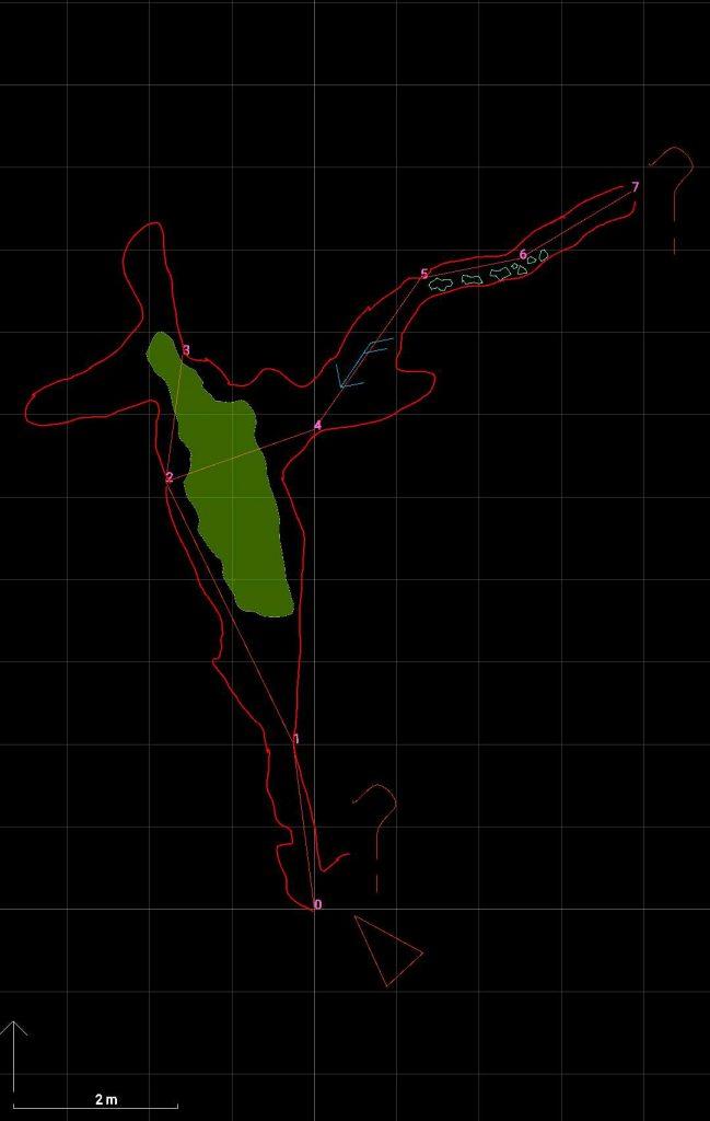 карта на пещерата