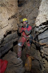 Kita Gacesina cave Croatia
